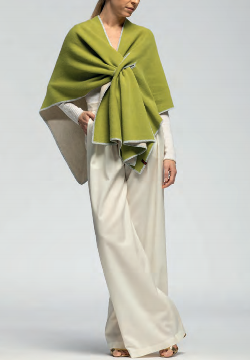 omslagdoek groen